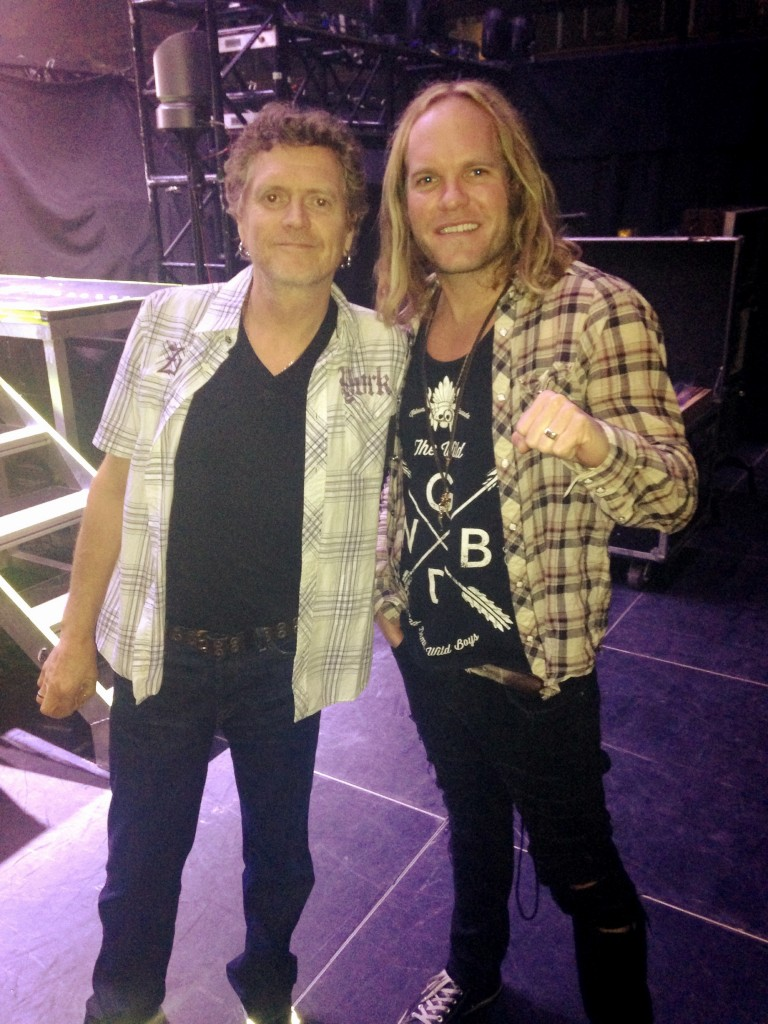 KD and Rick Allen